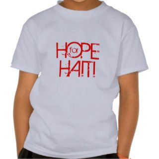 ARC DONATION HOPE FOR HAITI Kids Vintage T Tee Shirt