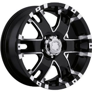 Ultra Baron 20 Black Wheel / Rim 5x150 with a 30mm Offset and a 110 Hub Bore. Partnumber 202 2950B Automotive