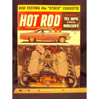 1956 56 SEP September HOT ROD Magazine, Volume 9 Number # 9 Trend Inc. Books