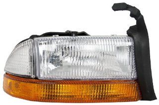 OE Replacement Dodge Dakota/Durango Passenger Side Headlight Assembly Composite (Partslink Number CH2503117) Automotive