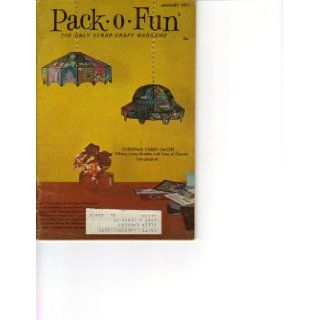 Pack O Fun January 1971 (The Only Scrap Craft Magazine, Volume 20 Number 5) Edna Clapper Books