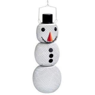 Perky Pet Solar Powered Snowman No/No Wild Bird Feeder SHSM00356