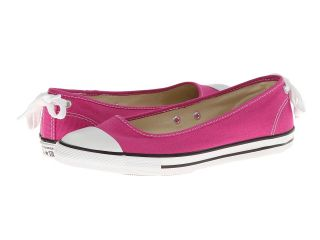 Converse Chuck Taylor All Star Dainty Ballerina Slip On Ox Womens Slip on Shoes (Pink)