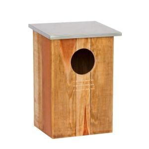 Redwood Barn Owl Bird House 12021