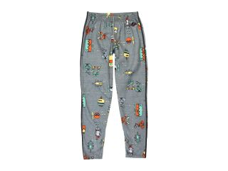 Hot Chillys Kids Midweight Print Bottom Boys Clothing (Gray)