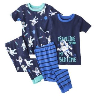 Just One You by Carters Infant Toddler Boys 4 Piece Short Sleeve Astronaut