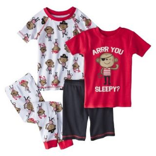 Just One You Made by Carters Infant Toddler Boys 4 Piece Short Sleeve Monkey