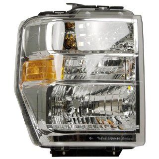 OE Replacement Ford Econoline Passenger Side Headlight Assembly Composite (Partslink Number FO2503249) Automotive