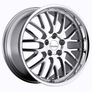 Lumarai Kya 18 Chrome Wheel / Rim 5x4.5 with a 37mm Offset and a 60.1 Hub Bore. Partnumber 1880LUK375114C60 Automotive