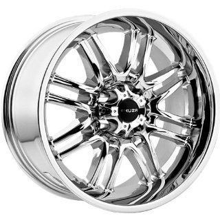 Akuza Ricco 17x9 Chrome Wheel / Rim 5x4.5 with a  12mm Offset and a 83.70 Hub Bore. Partnumber 839790545 12C Automotive