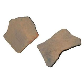 Nantucket Pavers 20 in. and 21 in. Irregular Concrete Tan Variegated Stepping Stones Kit (20 Piece) 52204