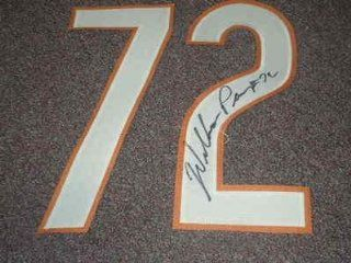 WILLIAM FRIDGE PERRY Signed JERSEY NUMBER # 72 Set Chicago Bears Football Auto   Autographed NFL Jerseys Sports Collectibles