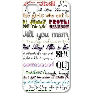 One Direction Quotes iPhone 5 Case Hard Plastic iPhone 5 Case Cell Phones & Accessories