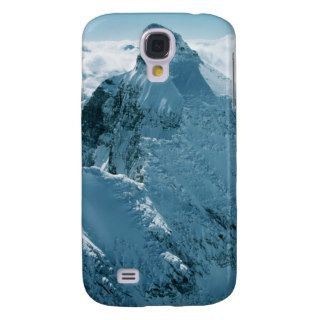 Snow ed Peak in the Rocky Mountains Samsung Galaxy S4 Covers