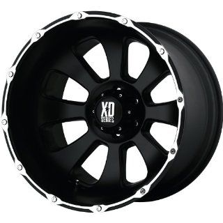 XD XD799 20x12 Black Wheel / Rim 6x135 with a  44mm Offset and a 87.10 Hub Bore. Partnumber XD79921263744N Automotive