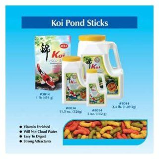 "Brand New Imperial Garden Products OSI Koi Pond Sticks Maintenance Floating Fish Food 5oz. ""Sale Imperial Garden Products   Medium Pellets / Sticks"""