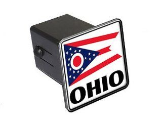 "Ohio   Flag   2"" Tow Trailer Hitch Cover Plug Insert Automotive"