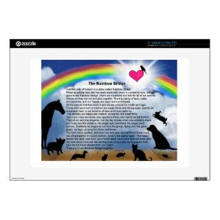 Rainbow Bridge Poem Decal For Laptop