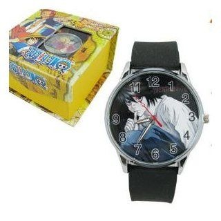 Death Note Anime Face Round Watch