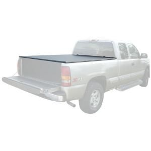 PRO SERIES 80.5 in. x 70.5 in. 25 lb. Vinyl Tonneau Truck Bed Cover for GMC Sierra PS07903