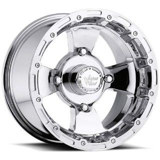 Vision Bruiser 12 Chrome Wheel / Rim 4x156 with a 2.5mm Offset and a 131.1 Hub Bore. Partnumber 161 127156C4 Automotive