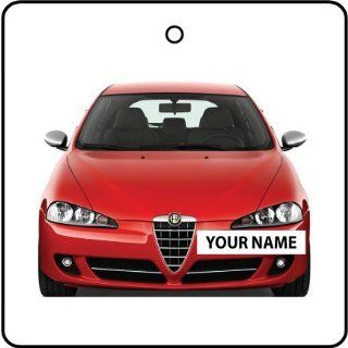 YOUR NAME ALFA ROMEO 147 CAR AIR FRESHENER
