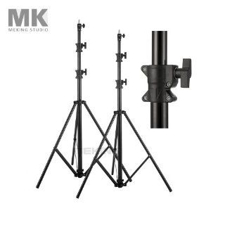 Photography Photo Studio Air Cushion Light Stand 2pcs 3m / 10ft MZ Lightstand  Photographic Lighting Booms And Stands  Camera & Photo