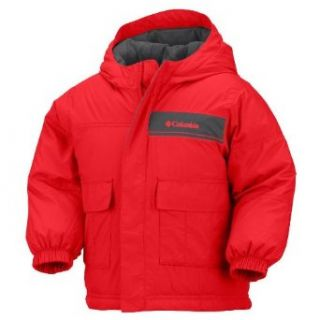 Columbia Squish N Stuff Jacket Hot Rod 6 MO  Kids Infant And Toddler Snowsuits Clothing