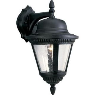 Progress Lighting Westport Collection 1 Light Textured Black Wall Lantern P5863 31