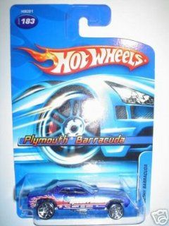 2005 Hot Wheels Plymouth Barracuda # 183 164 Scale Toys & Games