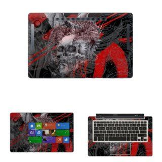 "Decalrus   Decal Skin Sticker for ASUS Transformer Book TX300CA with 13.3"" Touchscreen notebook tablet (NOTES Compare your laptop to IDENTIFY image on this listing for correct model) case cover wrap asusTX300CA 166 Computers & Accessories"