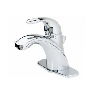 "Pfister Parisa Single Control 4"" Centerset Bathroom Faucet in Polished Chrome   Touch On Bathroom Sink Faucets"