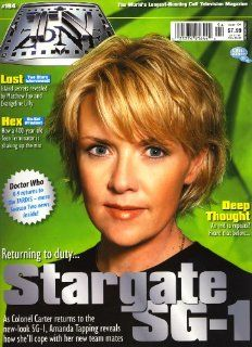 TV Zone The World's Longest running Cult Television Magazine Issue #194 Doctor Who K 9, Stargate SG 1  Other Products