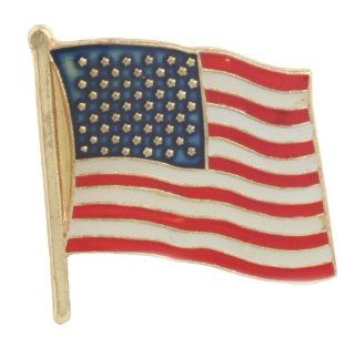 10 Pieces of American Flag Pin Jewelry