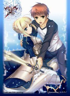 Fate/stay night SABER & EMIYA Shiro Chara Character Card Sleeves No.177 MTG TCG CCG Toys & Games