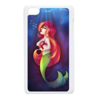 Cartoon The Little Mermaid Personalized Music Case Ipod Touch 4th Case Cover for Ipod Touch 4th Generation IT4TLM31   Players & Accessories