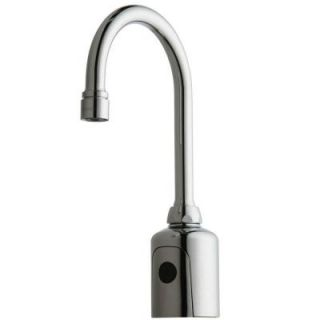 Chicago Faucets HyTr83 DC Powered Touchless Lavatory Faucet in Chrome 116.203.AB.1