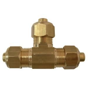 Watts 5/8 in. Lead Free Brass Compression Tee LF A313