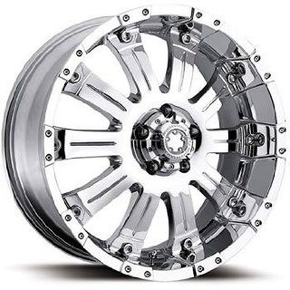 Ultra Mammouth 17x8 Chrome Wheel / Rim 6x5.5 with a 0mm Offset and a 108.00 Hub Bore. Partnumber 227 7883C Automotive