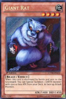 Yu Gi Oh   Giant Rat (LCYW EN232)   Legendary Collection 3 Yugi's World   Limited Edition   Secret Rare Toys & Games