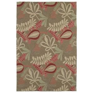 Kaleen Home & Porch Tybee Coffee 3 ft. x 5 ft. Area Rug 2005 51 3x5