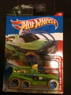 Hot Wheels XS IVE 183/244   Thrill Racers Desert '11   on Green Lantern card