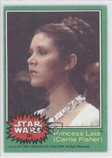 Princess Leia (Trading Card) 1977 Star Wars #221