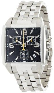 Tissot Quadrato Chronograph Mens Watch T0055171105700 Tissot Watches