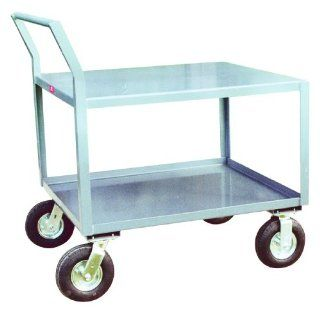 Jamco Products SS236 N8 GP 24 Inch by 36 Inch 1200 Pound Capacity Offset Handle Low Profile Cart