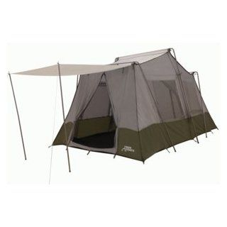 Trek Tents 237 NylonTaffeta Cabin 8' x 13' Two Room 7 Person Camping Tent  Family Tents  Sports & Outdoors