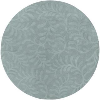 Surya Candice Olson Light Blue 8 ft. Round Area Rug SCU7520 8RD