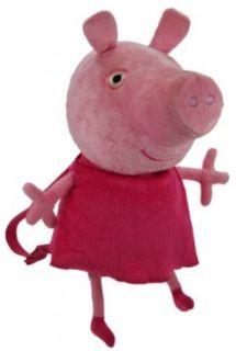 Peppa Pig Plush Backpack   Peppa Pig Plush Backpack Clothing