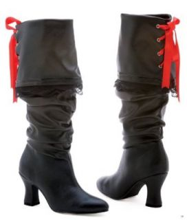 "Ellie Shoes E 253 Morgan, 2.5"" Knee High Boot. 6 Black Clothing"
