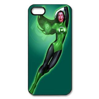 Custom Green Lantern Back Hard Cover Case for iPhone 5 5s I5 301 Cell Phones & Accessories